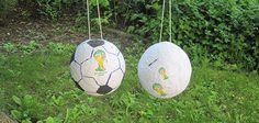 Fussballspass für Gross und Klein: Die Pinata verwandelt jedes Kind in einen Fussballfan und versüsst den Grossen allfällige Niederlagen. Wieso unsere Bastelidee auch für weniger Beulen am Kopf sorgt, lesen Sie in der Anleitung.