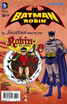 Damian Wayne Returns with Superpowers in Batman and Robin #38.