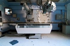 Norwich State Hospital closed its doors in 1996, by Rob Dobi