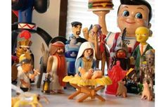 27 Wildly Hilarious Nativity Sets That Border on Blasphemy (Slide #56) - Offbeat