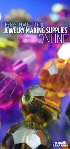 Looking for the best places to buy beads online? An expereinced beader and jewelry maker put together this list of resources for jewelry making materials and tips for beginners.