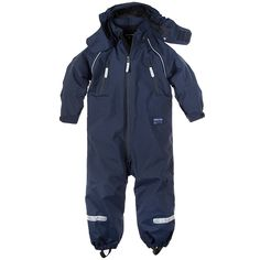 FLEECE LINED SHELL OVERALL (2-6 YRS) for ultimate outdoor adventuring
