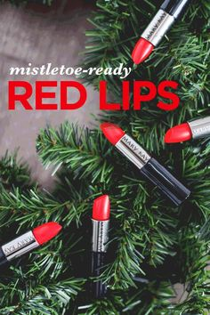 Red lips aren't just for Christmas though!  Get red, kissable lips for any time of the year!