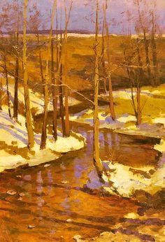 Ferdynand Ruszczyc - Wiosna, 1897