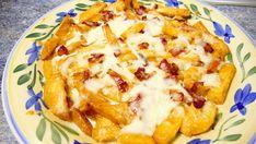 patatas con queso y bacon - Recetas de cocina faciles rapidas y economic...