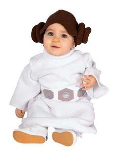 Fantasia Princesa Leia Bebê