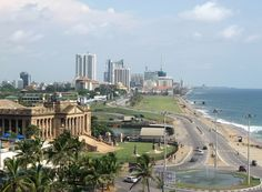 colombo, sri lanka. I've been here. I believe they call it the White House.