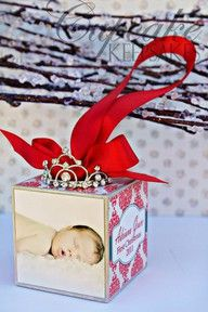 The cutest first Christmas ornament.