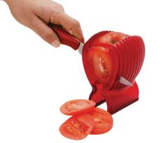 Cortador de tomates en perfectas rodajas
