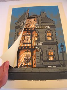 The Decemberists dolls house poster