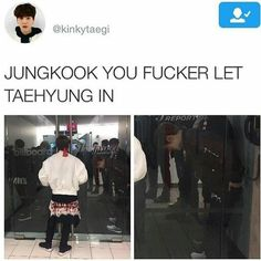 He locked him out lol. Relation ships goals