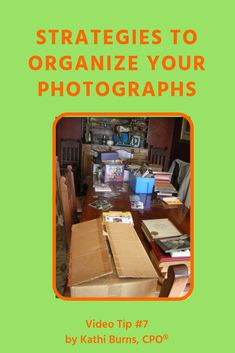 Do you have piles, boxes and jumbles of photos clogging up your storage space?  This article is your guide to organizing, categorizing and even eliminating your old photo collection!