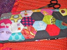 Sew It Together 2012 hexagon pencil case