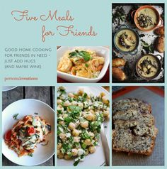 5 Delicious Home-Cooked Recipes for Friends | Personal Creations Blog