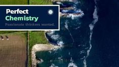 A creative job vacancy video template. 'Perfect Chemistry' A stunning background video of the ocean.
