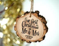 Christmas Gifts For Couples, Christmas Couple, First Christmas, Xmas, Christmas Tree, Modern Christmas Ornaments, First Year Of Marriage, Easter Projects, Newly Married