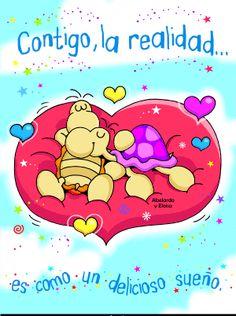 Mensaje de cariños para mi amor #amor #love #i_love_you #te_quiero #te_amo Love You, My Love, Love Images, Winnie The Pooh, Scrapbook, Crafty, Quotes, Cards, Kawaii