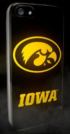 Iowa Hawkeyes - Smartphone Case for iPhone 5 - Black