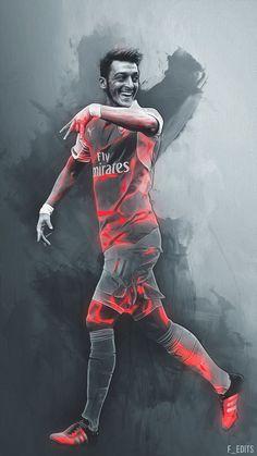 Ozil Arsenal 16/17 home soccer jersey. Alexis football shirt. Walcott