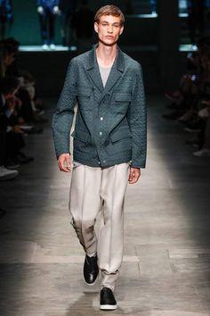 Farb-und Stilberatung mit www.farben-reich.com - Ermenegildo Zegna #ss15 #menswear #fashion #collection #mmfw