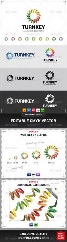 Turnkey Logo - Abstract Logo Templates