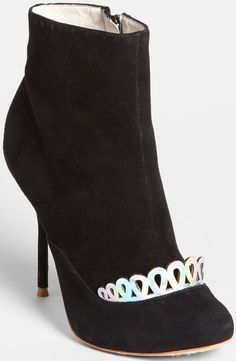 """Sophia Webster """"Giselle"""" Suede Boot with Tiara Trim"""