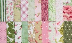 """2 1/2"""" ROSE THYME PRINT STRIP COLLECTION"""