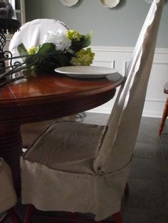 DIY Dining Chair Slipcovers DIY Home DIY Furniture