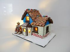 how to make gingerbread house from scratch