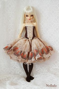 Outfit for MSD 1/4 Minifee by NOLLUFO on Etsy