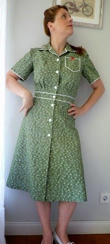 frau burow näht: ♥ Sew for victory ♥ Looks like a dress, but actually culottes!--fantastic detailing