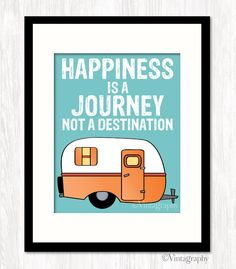 HAPPINESS Is a JOURNEY Not a DESTINATION by WillowAndOlive on Etsy