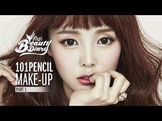 Etude Pencil Makeup Tutorial:  3 Different Looks  Pony's Beauty Diary - Play 101 Pencil Makeup (청초/코랄/레트로 메이크업)