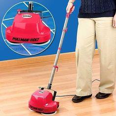 Pullman Holt B200752 Gloss Boss Mini Floor Scrubber & Polisher Cleaner Free ship