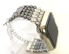 Everyday PyXY Beaded Apple Watch Band by PyXY on Etsy