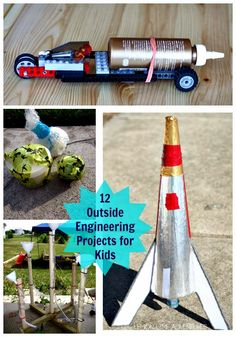 Engineering Projects for Kids to do outside