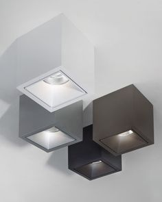 Buy the Ceiling light Boxy LED from Delta Light, on Made in Design - 48 to 72 hours delivery. Recessed Ceiling, False Ceiling Design, Led Ceiling, Cool Lighting, Modern Lighting, Lighting Design, Spot Plafond, Luxe Decor, Delta Light
