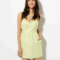 ISO AE Dress -Same color  -sz M  mayb S  -preferably new or like new  -trade or buy American Eagle Outfitters Dresses Mini