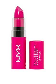 NYX Butter Lipstick Razzle Jus got this today ! All Things Beauty, My Beauty, Beauty Makeup, Beauty Hacks, Beauty Tips, Makeup Things, Makeup Stuff, Beauty Stuff, Beauty Secrets