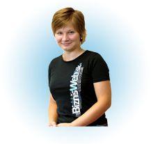 Ing. Jana Gombošová  Sales Manager  Janka byla jedinou pracovníčkou supportu v úplných začátcích firmy. Slovenským, polským a anglickým zákazníkům je věrná i dnes. Aktivně testuje nový redakční systém FLOX 2.0 a dobře se rozumí i problematice SEO optimalizace.   e-mail: info@byznysweb.cz tel.: 222 74 64 10