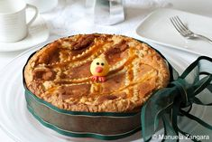 Pastiera Napoletana - a typical Easter cake from Naples.