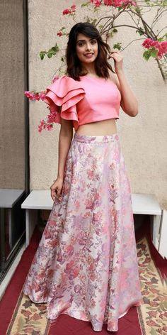 New – WaliaJones Lehenga Designs, Saree Blouse Designs, Dress Designs, Lehnga Dress, Lehenga Blouse, Indian Gowns Dresses, Long Dresses, Crop Top Dress, Frocks For Girls