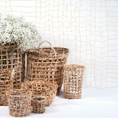SPRANG, coloris Curry, 75€ Decoration, Wicker Baskets, Curry, Cool Stuff, Wallpaper, Spring, Home Decor, Color, Decor