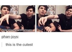 I love how phil is always there to make sure they don't hurt themselves