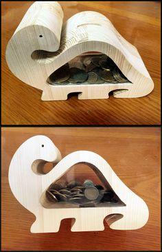 Dino#Kumbara#Coin Bank