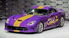 My next car. Lsu Tigers Football, Football Is Life, Car Hd, Louisiana State University, Dodge Viper, Toys For Boys, Karate, Cool Toys, Sports Logos