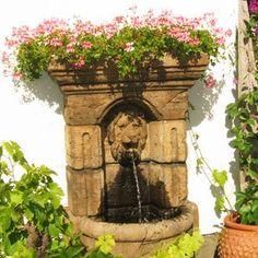 Fontener Fountain, Planter Pots, Outdoor Decor, Design, Home Decor, Decoration Home, Room Decor, Water Fountains