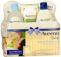 With The Most Up-To-Date Equipment And Techniques Baby Aveeno Baby Daily Bathtime Solutions Gift Set To Nourish Skin For Baby And Mom Bathing & Grooming
