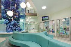 That Fish Tank!! - Emergency triage department Royal Childrens Hospital VIC- Designed by Billard Leece Partnership and Bates Smart