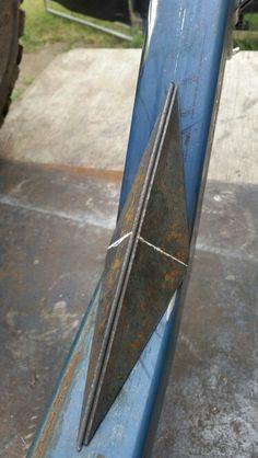 Welding Cart, Diy Welding, Metal Welding, Welded Furniture, Steel Furniture, Metal Working Tools, Metal Tools, Metal Art Projects, Welding Projects